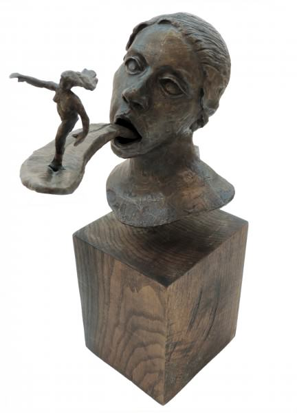 Tess Little | RUNNING AWAY | bronze
