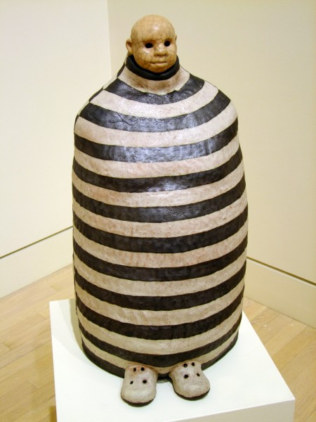 Thomas Bartel | MUMMY BUNDLE FIGURE | ceramic