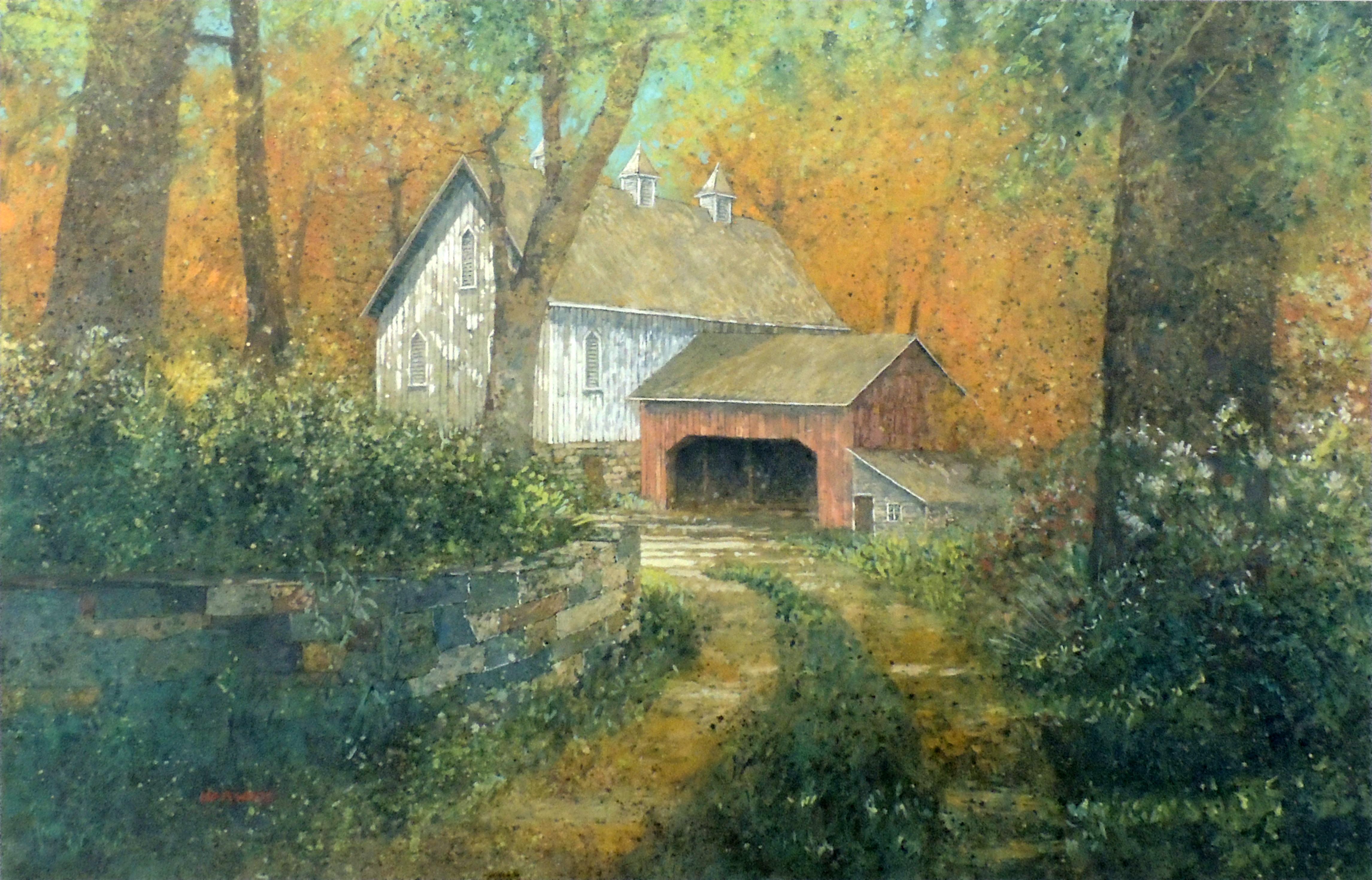 Thomas Harwood | JENKIN'S FARM | Watercolor