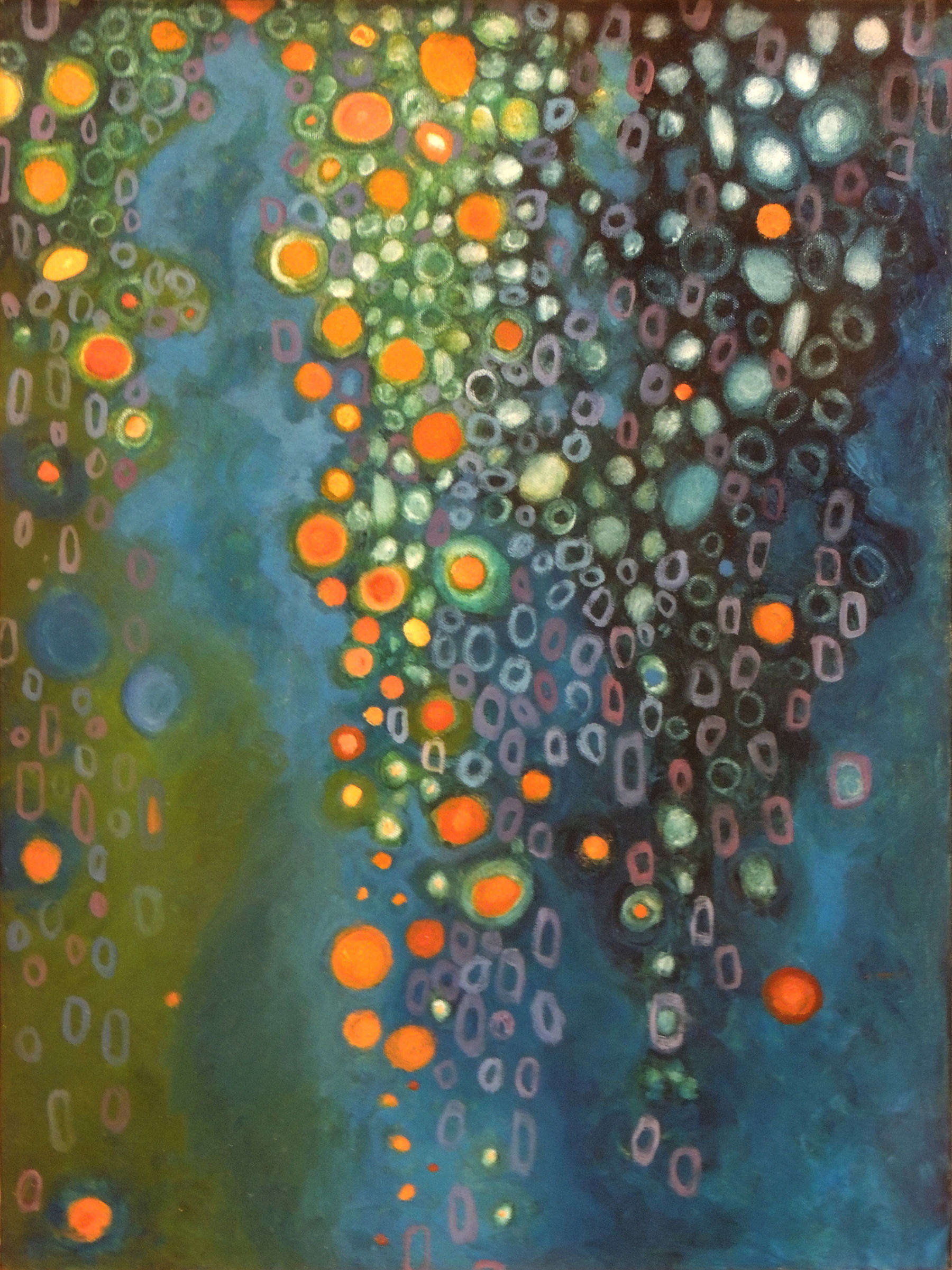 Tricia Tallman | PRIMORDIAL | oil on canvas