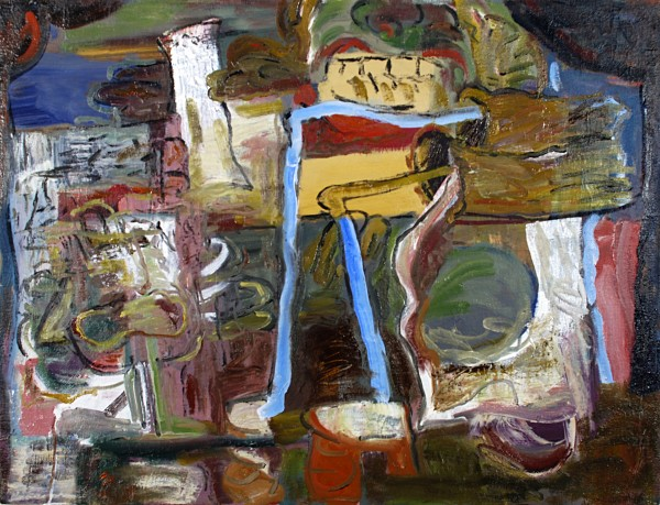 Alan Crockett | BELTIN' THE BLUES | 18 X 24"