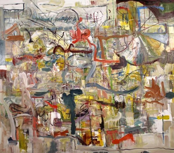"Alan Crockett   CARNIVAL   60 X 72""   oil on canvas   2012"