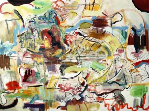 "Alan Crockett   FUNNY BUSINESS   36 X 48""   oil on canvas   2012"