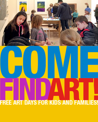 Come Find Art 	Apr 29, 2:30pm 	 	go »