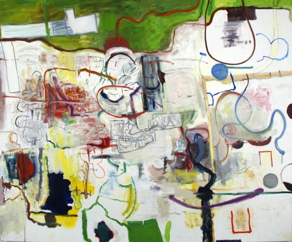 "Alan Crockett   THE STROLL   60 X 72""   oil on canvas   2013"